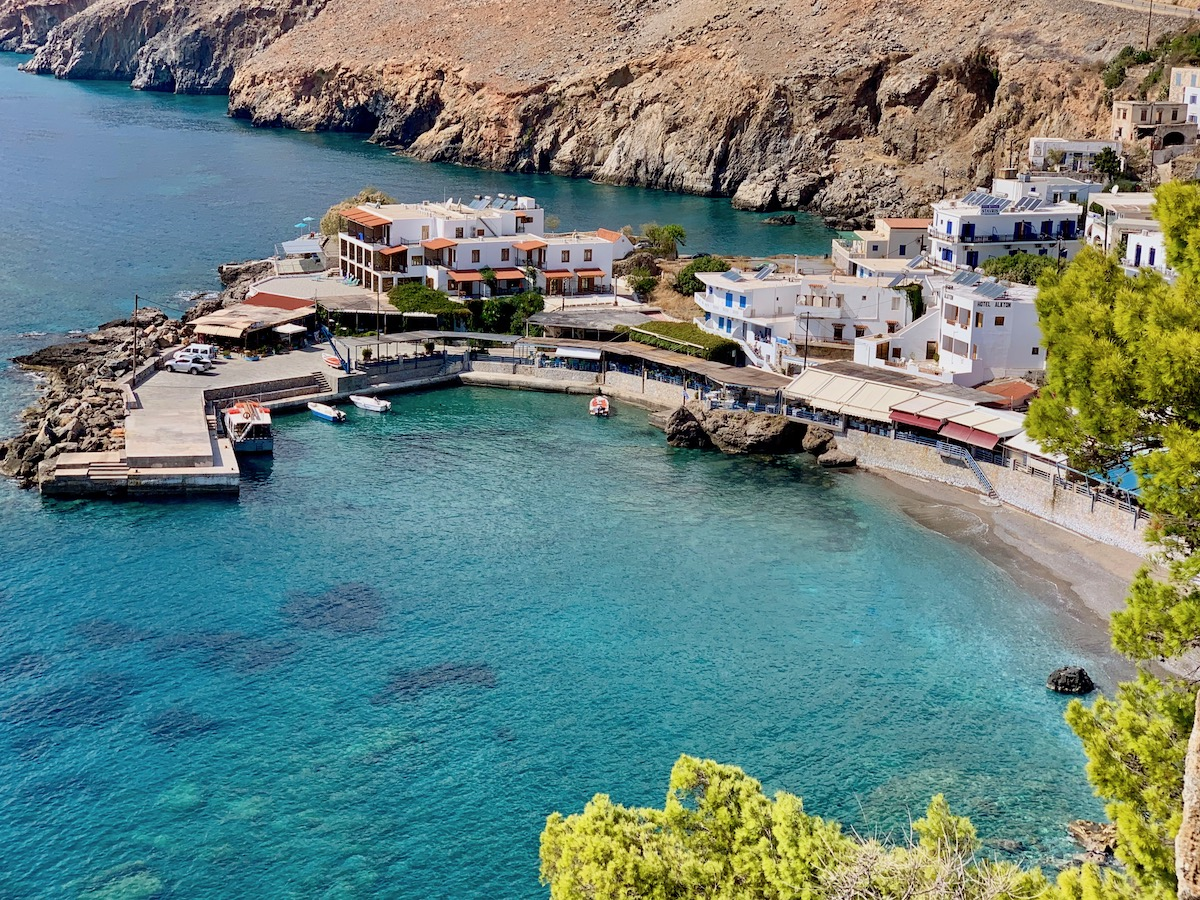 Chora Sfakia From Fort